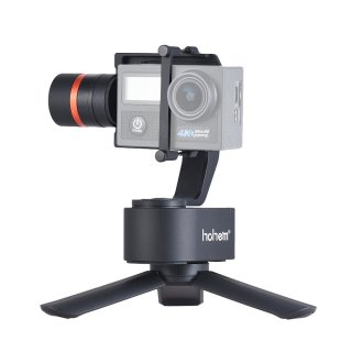 Hohem XG1 3軸ジンバル GoProスタビライザー•GoProジンバル アクションカメラHero 7/6/5/4/3 Dji Osmo camなどに適用•日本語取扱説明書