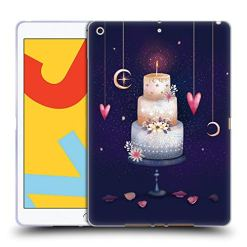 Official Oilikki Cake Assorted Designs Soft Gel Case Compatible for iPad 10.2 (2019)