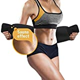 Perfotek Waist Trimmer Belt, Weight Loss Wrap, Stomach Fat Burner, Low Back and Lumbar Support with Sauna Suit Effect, Best Abdominal Trainer