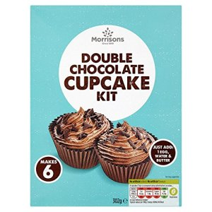 Morrisons Double Chocolate Cupcake Kit, 302g 51QeE3XCe L