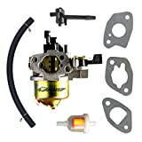 (UM8) UMPARTS Carburetor Carb For Powermate Branded 196CC 18 IN 9.6FT.LBS Rear Tine Rotary Tiller P-RTT-196MD P-RTT-196MD-E