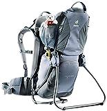 Deuter Kid Comfort 1 Lightweight Framed Child Carrier for Hiking, Titan/Granite