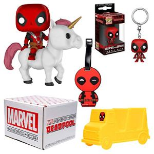 Funko Marvel Collector Corps Subscription Box - Deadpool Theme, July, Multicolor 5