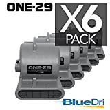 BlueDri BD-ONE-29-6-GY Air Mover, Pack of 6, Gray