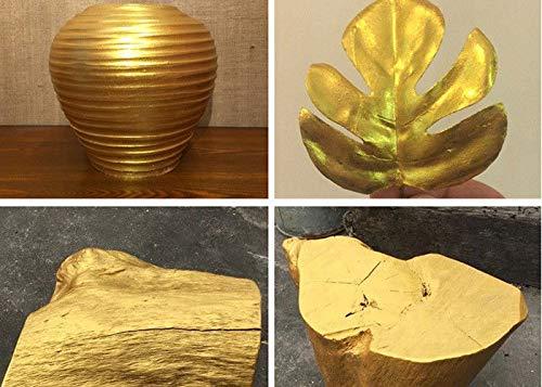 51QiVjrEyUL - GRANOTONE Acrylic Venezia Metallic Colour 24 Carats Gold | 50 ml | Extra Sheen | Non Fading | Indoor/Outdoor | Non Toxic | Multi-Surface | Pro Artist, Hobby Painters & Kid | Made in India