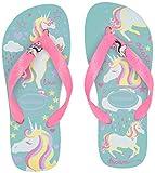 Havaianas Baby Fantasy, Ice Blue/Shocking Pink, 33/34 BR (3-4 M US Little Kid)