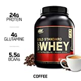 OPTIMUM NUTRITION GOLD STANDARD 100% Whey Protein Powder, Vanilla Ice Cream, 5 Pound