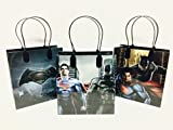 Marvel Batman v Superman Party Favor Gift Goodie Bag - 12 Pieces by Disney