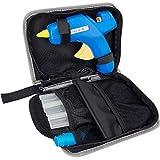 Hot Glue Gun Kit - 60/100W Dual Temp Glue Gun Full Size(Not Mini) with 10pcs Glue Sticks & other Accessories in Carrying Case, Best Glue Gun for Sealing Repairing Craft DIY