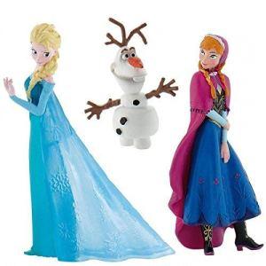 3 cake top Frozen, Anna Elsa e Olaf