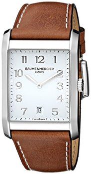 Baume & Mercier Men's BMMOA10153 Hampton Analog Display Quartz Brown Watch