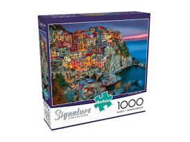 Buffalo-Games-Darrell-Bush-Canoe-Lake-1000-Piece-Jigsaw-Puzzle-Signature-Collection-Cinque-Terre-1000-Piece-Jigsaw-Puzzle