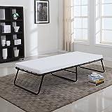 Foldaway Folding Bed Cot - Memory Foam - Divano Roma Furniture