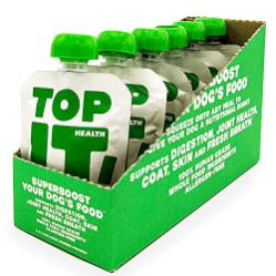 TopIt-Healthy-Dog-Food-Nutritional-Supplement-Supports-Digestion-Joint-Health-Coat-Skin-and-Fresh-Breath-Dog-Supplements-Grain-Free-Dog-Food-Limited-Ingredient-Dog-Food-6-PouchesBox