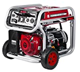 A-iPower SUA12000E 12,000-Watt Gasoline Powered Generator with Electric Start, GFCI Outlet Wheel Kit Included