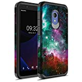 GORGCASE Alcatel IdealXtra Case, Alcatel 1X Evolve, Alcatel TCL LX, Slim Thin Fashion Classy Hard pc Cute Hard Dual Layer Bumper Girls Teen Women Teen Armor Protective Cover for (A502DL) Galaxy Star