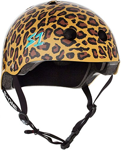 S-ONE Lifer CPSC - Multi-Impact Helmet -Moxi Leopard Print - XXX-Large (23.5