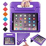 BMOUO Case for iPad 2 3 4 - Kids Case Shockproof Convertible Handle Light Weight EVA Super Protective Stand Cover for iPad 4, iPad 3 iPad 2 2nd 3rd 4th Generation, Purple