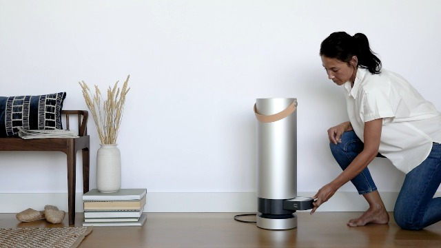 Molekule-Air-Large-Room-Air-Purifier-with-PECO-Technology-for-Allergens-Pollutants-Viruses-Bacteria-and-Mold-Silver