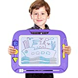 SGILE Large Magna Doodle Board Toy for Kids, 13X17' Magnetic Drawing Tablet Erasable Pad for Painting Writing Learning Kids Toddler Boy Girl Birthday Gift Present, Extra Large