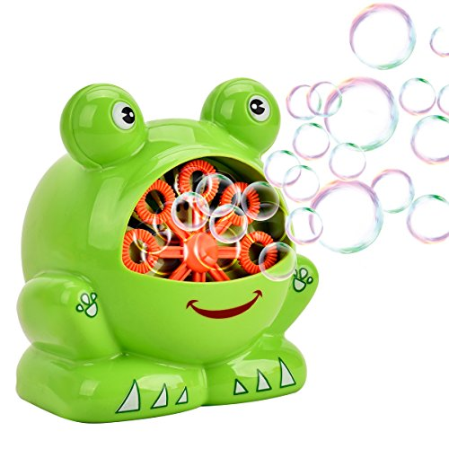 Showin Little Kids Bubble Machine - Automatic Bubble Maker Machine