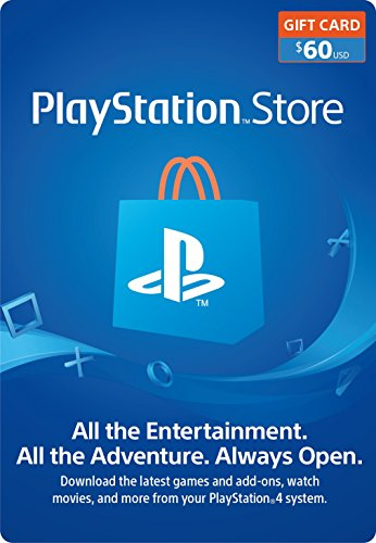 $60 PlayStation Store Gift Card [Digital Code] by ProductView