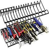 Plier Organizer Rack, 2 Pack, Stores Spring Loaded, Regular and Wide Handle Insulated Pliers, Tool Box Storage and Organization Holder Fits Nicely in Your Toolbox Drawer or Chest Drawers