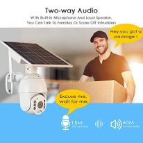 Wireless-Security-Camera-Outdoor-with-CellularLTE4G-Network-Solar-Battery-LOOSAFE-Home-Video-Surveillance-System-PIR-Radar-Motion-Detection-Full-Color-Night-Vision-2-Way-Audio-Pan-Tilt-IP65