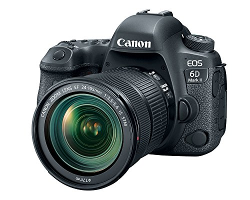 Canon EOS 6D Mark II with EF 24-105mm is STM Lens - WiFi Enabled