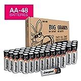 AA Batteries - 48 Count, Energizer MAX Premium Alkaline Double A Battery