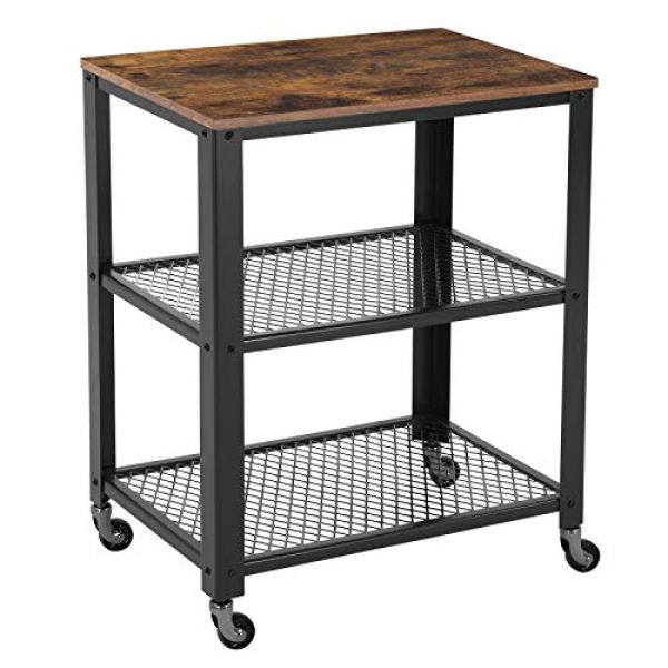 3 Tiered Serving and Storage Utility Cart