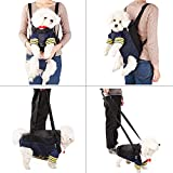 A4Pet Dog Carrier Front Pack for Hiking, Camping, Bike Riding or Travel with Puppy