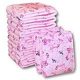Rearz - Princess Pink - Adult Diaper (12 Pack) (Medium, 32'' - 42'')