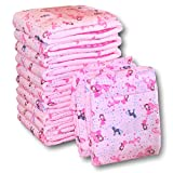 Rearz - Princess Pink - Adult Diaper (12 Pack) (Medium, 32'' - 42'')