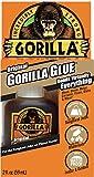 Gorilla Original Gorilla Glue, Waterproof Polyurethane Glue, 2 ounce Bottle, Brown