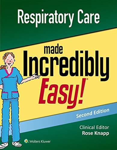 Respiratory Care Made Incredibly Easy (Incredibly Easy! Series®)