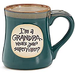 I'm a Grandpa What's Your Super Power Ceramic Mug