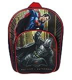 Dc Comics Batman V Superman Arch Children's Backpack, 31 Cm, 9 Liters, Black