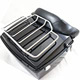 Classics Motorcycles Trunk Luggage Rack Rail for Harley Touring Road King Street Glide