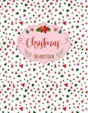 Christmas Memory Book: Cute Holiday Journal to Keep Stories and Pictures From Each Year Gathered in One Place with Space for Photos or Sketches and Text - Abstract Geometric Pattern