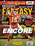 Beckett Fantasy Football Magazine 2019 (++ FREE GIFT) ENCORE CBS Sports