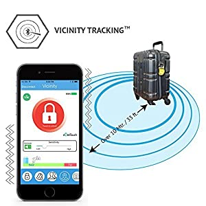 eGeeTouch Smart Luggage Lock Vicinity Tracking