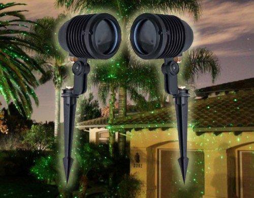 BlissLights Spright Green Stars Light Projectors International with 220-240v Power Supply