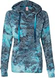 Product review for Weatherproof womens Courtney Burnout Hooded Pullover Blend Fleece (W1162)