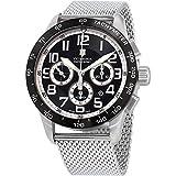 Victorinox Swiss Army Men's 241447.1 AirBoss Mach 6 Mechanical Black Chronograph Dial Watch