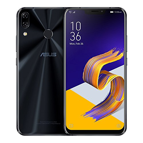 ASUS ZenFone 5Z (ZS620KL) 6GB/64GB 6.2-inches Dual SIM Factory Unlocked - International Stock No Warranty (Midnight Blue)