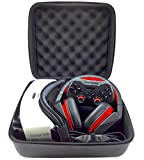 Graphein VR Headset and Accessory Case with Egg Crate Foam - Carbon Fiber