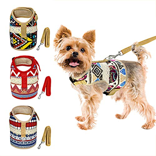 Muttitude Dog Harness & Leash Set for Small Breeds 1