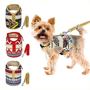 Muttitude Dog Harness & Leash Set for Small Breeds