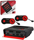 Retro-Bit Super RetroTRIO Console NES/SNES/Genesis 3-In-1 System - Red/Black